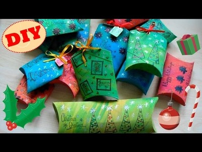 Tutorial: Scatoline Regalo Natalizie | Riciclo Creativo | DIY Christmas Gif Boxes