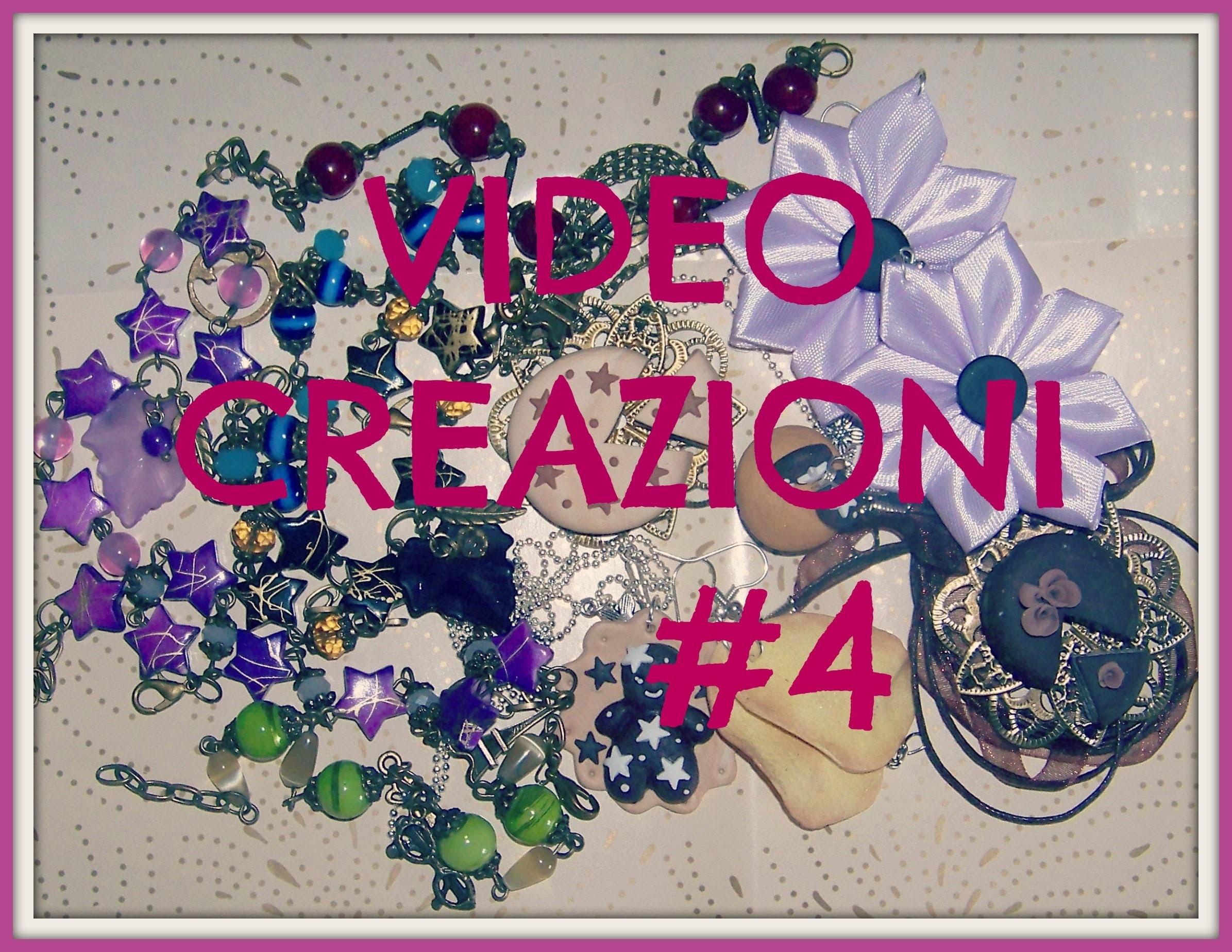 Video creazioni - fimo, perline, kanzashi - update #5