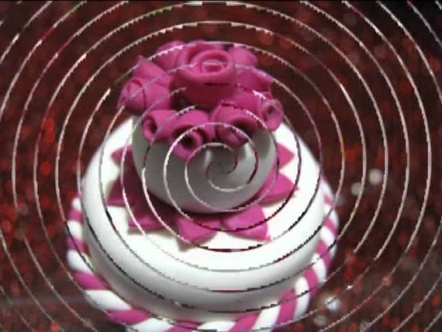 Wedding cake . . . . . . .mini!!!