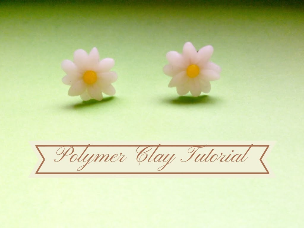 DIY Margherita ~ Daisy ✿ Polymer Clay Tutorial
