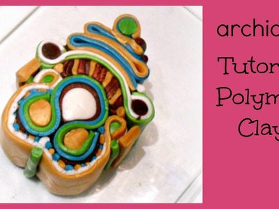 Polymer Clay Tutorial | Murrina Soutache Caleidoscope | DIY Millefiori Cane