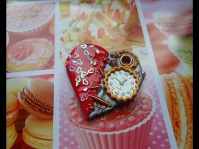 Tutorial Cuore Steampunk (polymer caly tutorial)