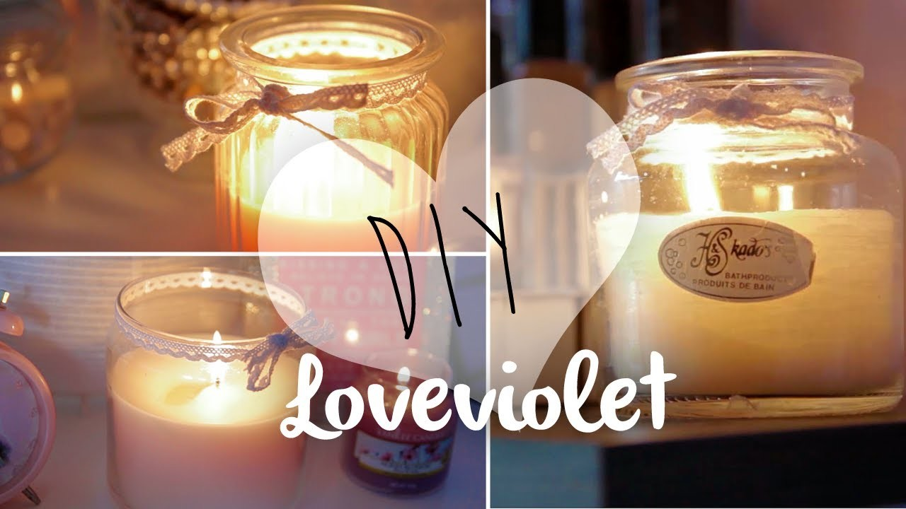 DIY: Candele in barattolo in stile ❀ Yankee Candle ❀ | Loveviolet
