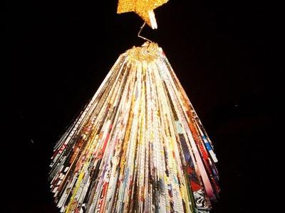Alberello di Natale con riviste - parte 1