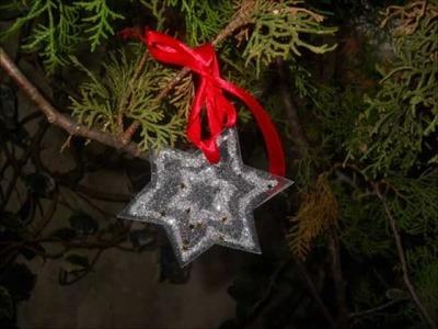Addobbi di Natale fai da te con materiale riciclato