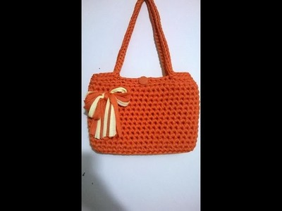 BORSA FETTUCCIA ORANGE 2A Parte