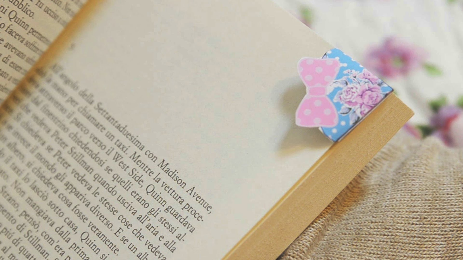 Cute bookmark diy. ITA