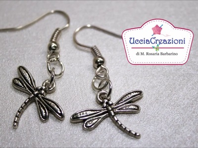 Orecchini con charms e perline di Ucciacreazioni! Earrings