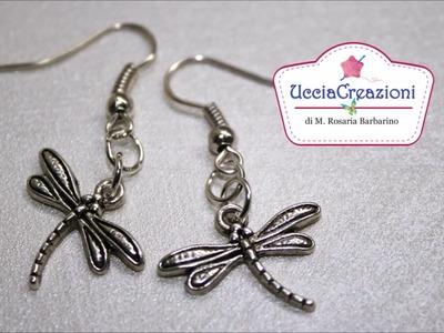 Orecchini con charms e perline di Ucciacreazioni! Earrings