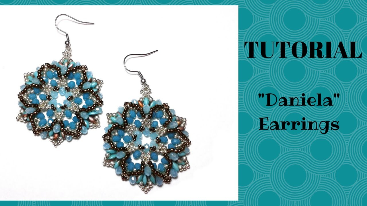 "Tutorial perline: orecchini ""Daniela"" 