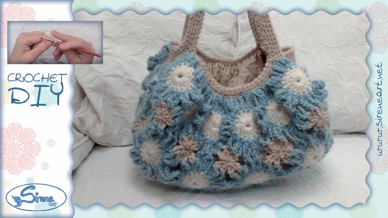 Tutorial Uncinetto ❀ Pattern Margherite [daisy] ❀ {3.3} [ITA or ENG SUB]