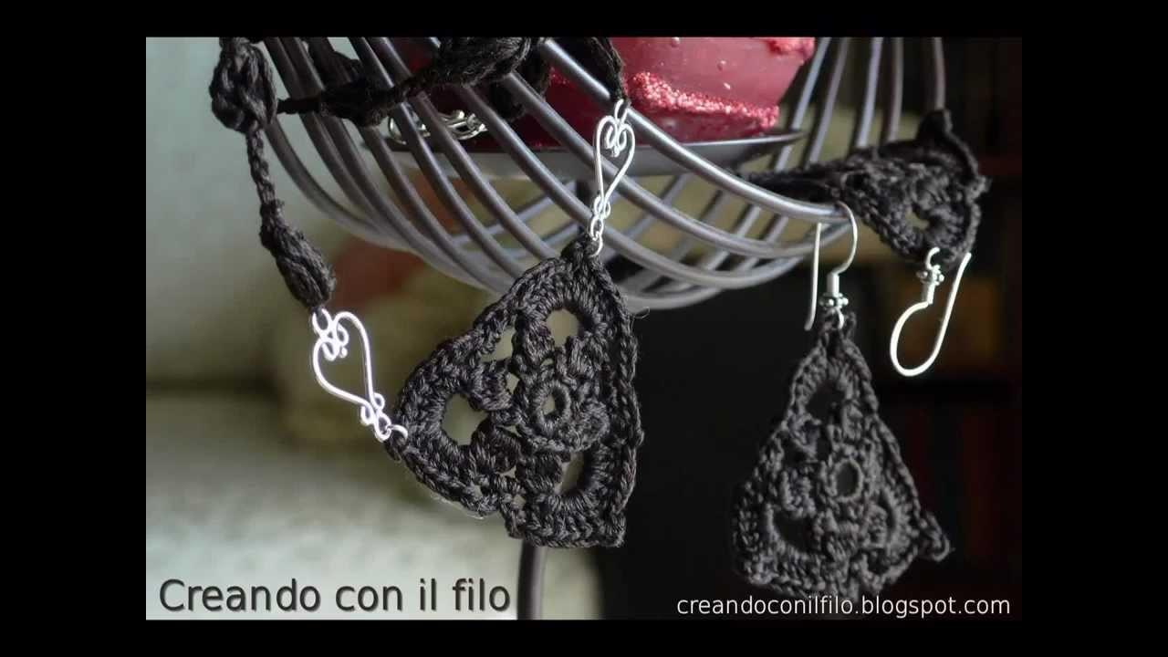 Video tutorial per semplicissima collana ad uncinetto