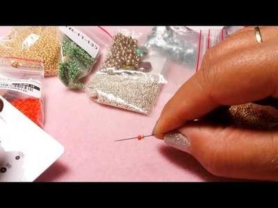 DIY Principianti- Aghi, fili, perline, come iniziare l'hobby delle perline
