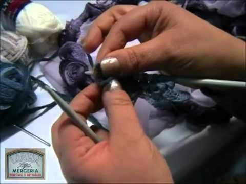 Lavorazione lana Butterfly