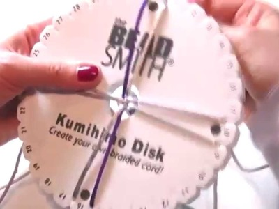 Braccialetto con il Disco Kumihimo parte 1