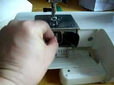 Come si prepara la bobina interna della macchina da cucire ?