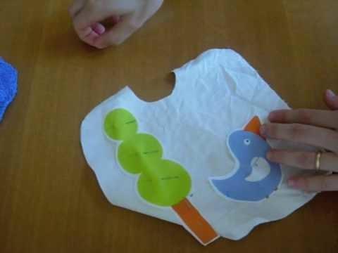 HowTo: Come cucire un bavaglino