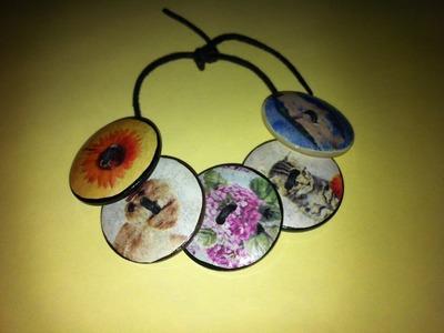 """Il braccialetto di bottoni di """"Paint Your Life"""""""