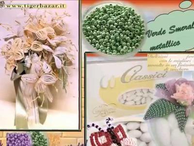 Perline fai da te: dalle idee ai materiali x fiori piante bomboniere