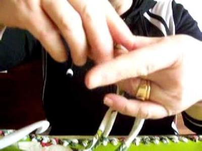 Realizzare una borsa in fettuccia : lezione 14 come proseguire il lavoro dalla base rigida parte I