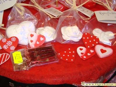San Valentino: un cuoricino e un'idea regalo o bomboniere