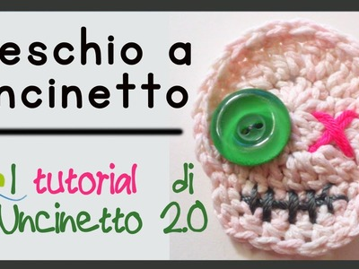 Teschio a uncinetto - Tutorial per Halloween