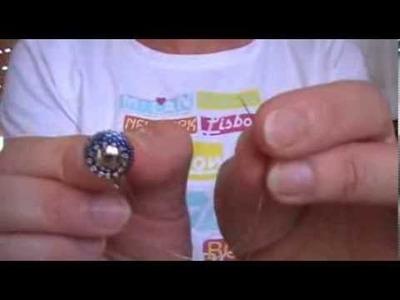 Tutorial decorazione clip per orecchini