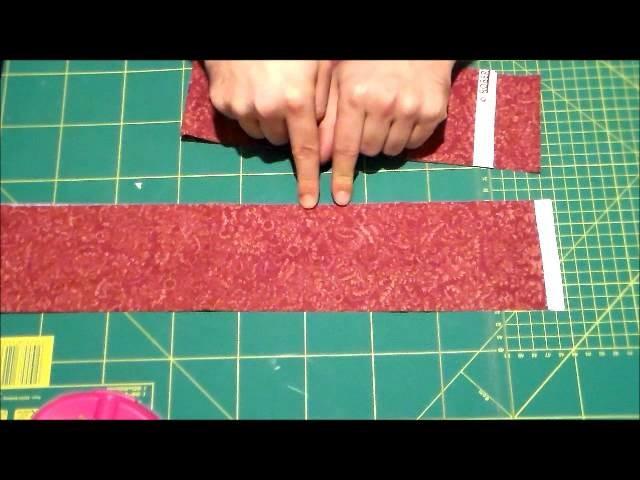 Videocorso di propedeutica al patchwork - baby quilt 3