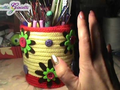Vlog creativo 11 | Porta uncinetti, card natale, orecchini uncinetto