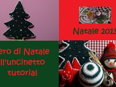 Albero di Natale all'uncinetto tutorial