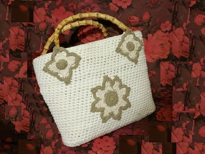 Borsa da mare all'uncinetto tutorial II di II - crochet sea bag - bolso en crochet -