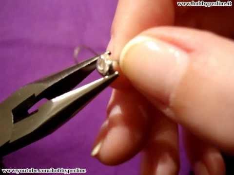 Come chiudere un coprischiaccino | Perline per Principianti - HobbyPerline.it