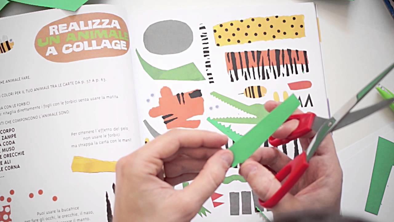 Come creare un collage di carta per bambini