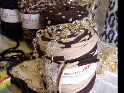 Fettuccia per borse bouclé: nuovo mondo del fai da te