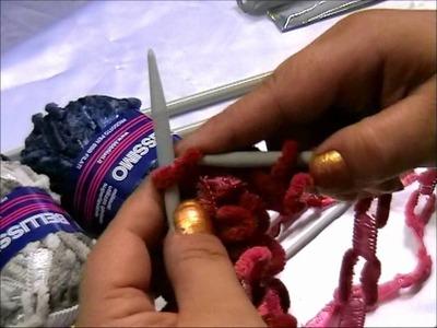 Lavorazione lana Bellessimo lana a catena