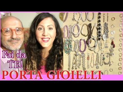 PORTA ORECCHINI E GIOIELLI Fai Da TE by Carlita e PAKITO !!! ♡