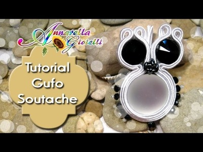 Tutorial gufo soutache | Soutache owl