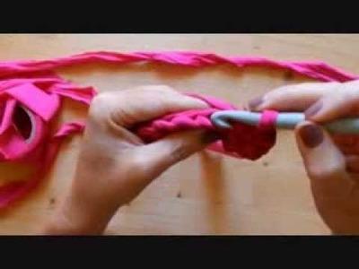 Tutorial Punto basso | bassissimo per realizzare borsa in fettuccia