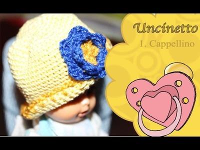 Uncinetto bimbi 1: cappellino
