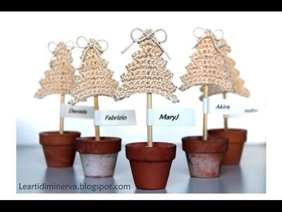 Albero di Natale all'uncinetto semplicissimo | Crochet Christmas tree