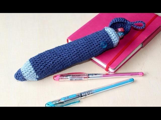 Astuccio a forma di matitone  - Tutorial uncinetto [Parte 3]
