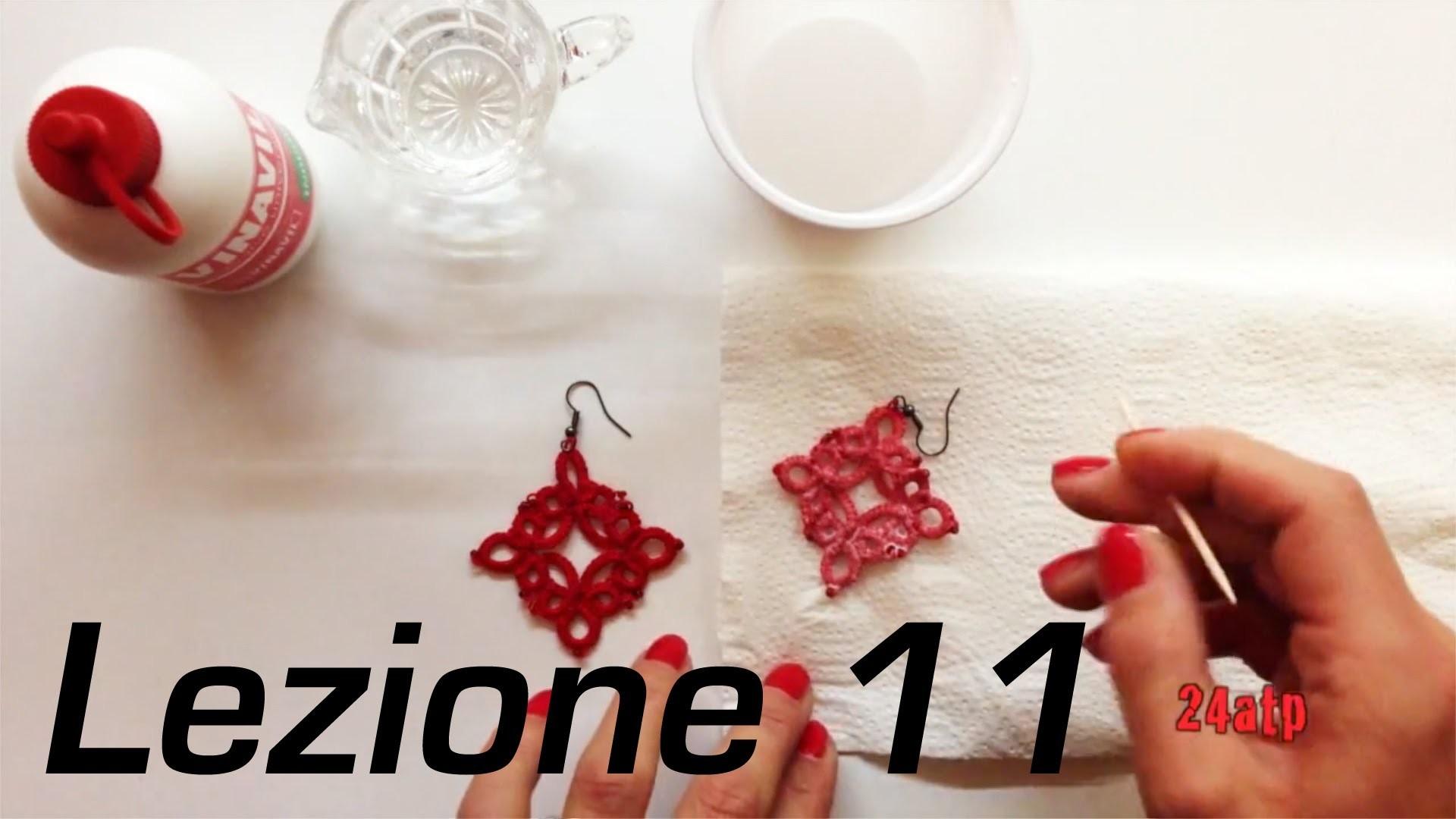 Chiacchierino Ad Ago - 11˚ Lezione Come Indurire Inamidare Pizzo Bijoux - Tutorial Come inamidare