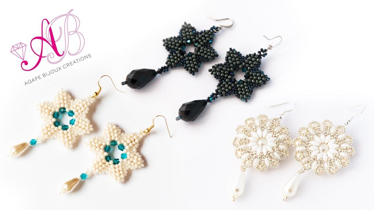 Nuove creazioni Novembre 2014: orecchini con perline