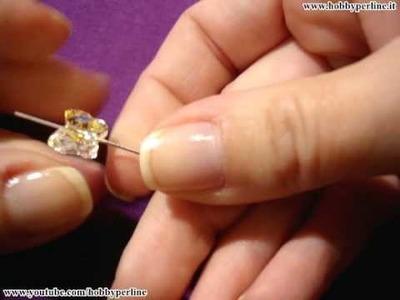 Orecchini Farfalla | Perline per Principianti - HobbyPerline.it