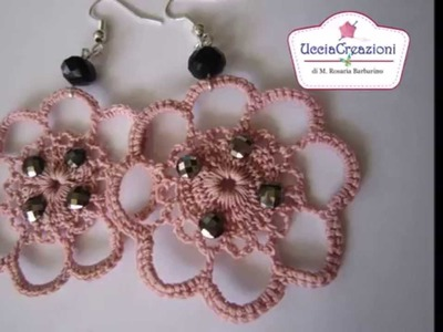 Orecchini Uncinetto 2015 **  - parte2 **   CROCHET  EARRINGS
