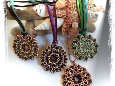 Presentazione canale e creazione bijoux handmade con perline