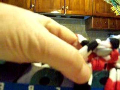 Realizzare una borsa in fettuccia : lezione 11 il punto pelliccia