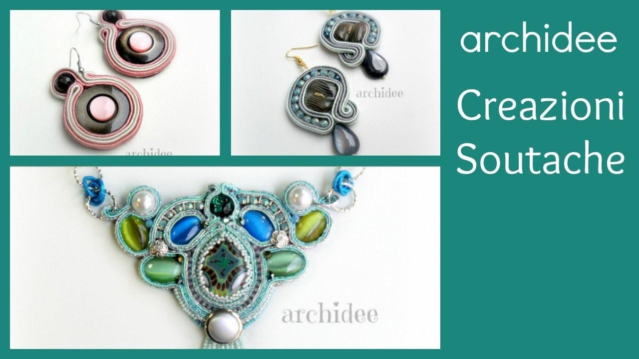 Soutache | Sutasz | Creazioni | Orecchini e Collane | Cabo handmade, filigrane, pizzi e bottoni