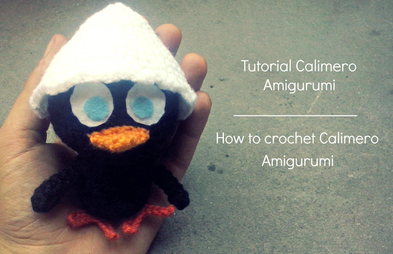 Tutorial Calimero Amigurumi   How to crochet Calimero Amigurumi