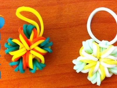 Tutorial - Fiori di 5 petali con elastici